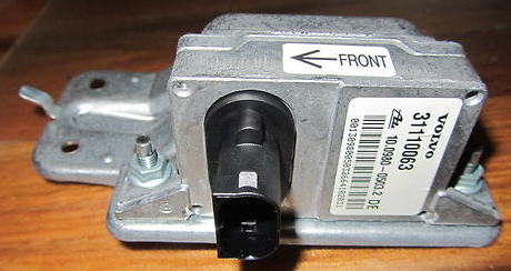 03-10 volvo xc90 yaw rate sensor anti skid system 31110063 or ...