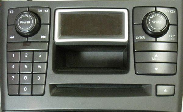 volvo xc90 icm matrix radio panel w/screen (30679226) | volvoproject.com