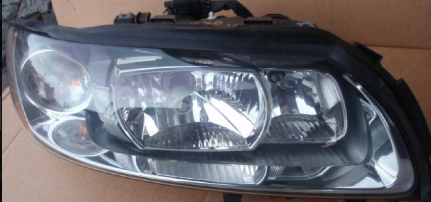 volvo s60 v70 xc70 xenon headlight passenger side right. Black Bedroom Furniture Sets. Home Design Ideas