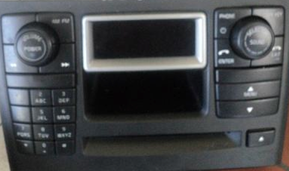 volvo xc90 ICM radio panel with car phone 03-06 30679226 premium sound matrix | volvoproject.com