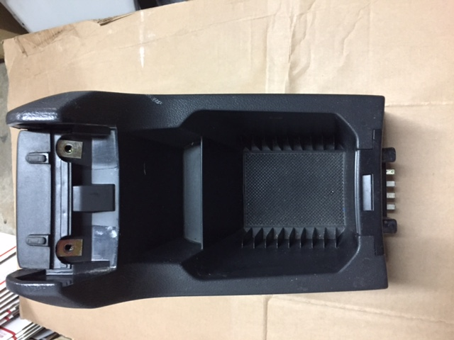 Volvo Xc90 Center Console Box Black Wo  Arm Rest
