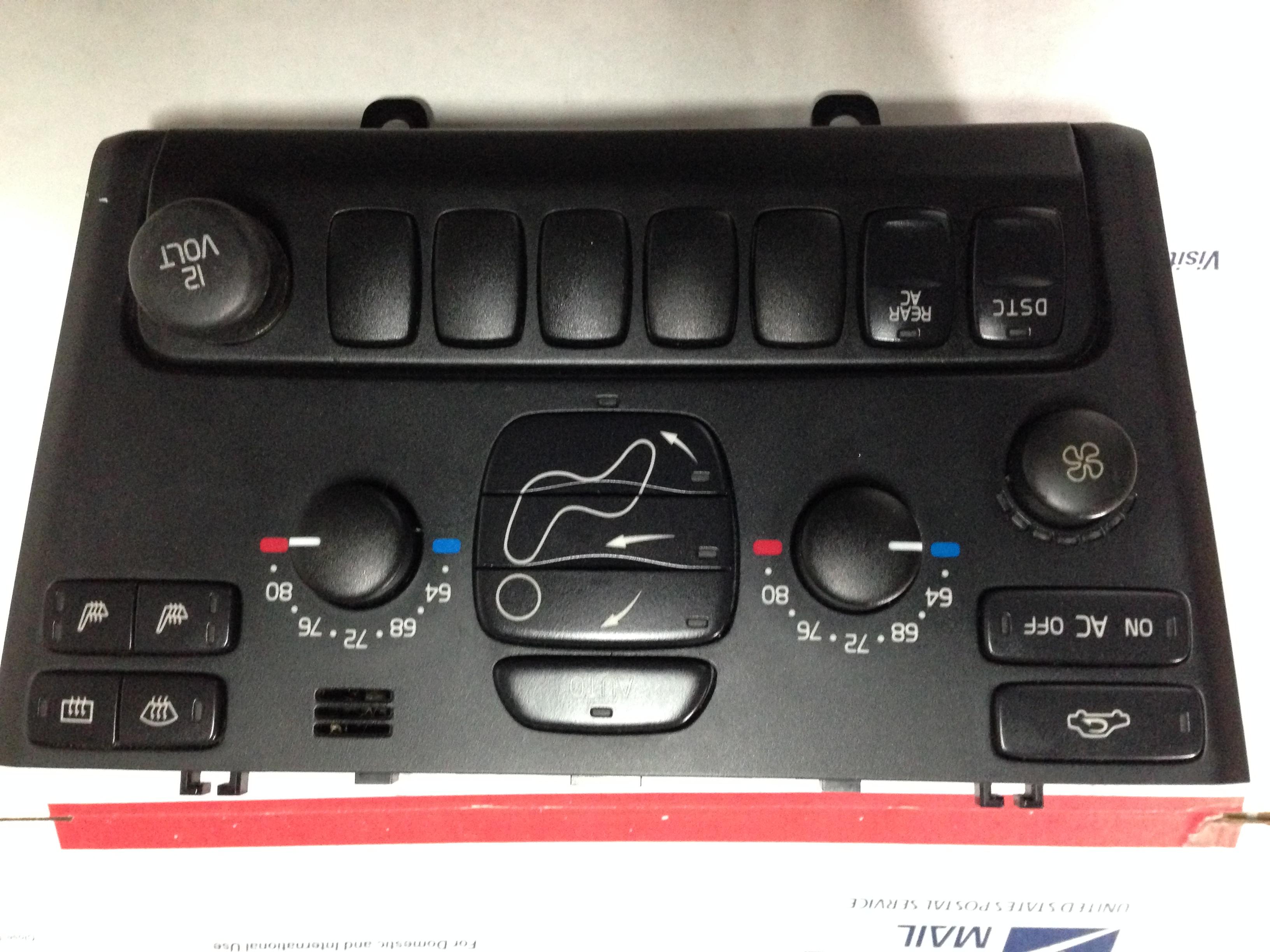 volvo xc90 heater control unit w/DSTC w/REAR w/heater seats AC 03 04 05 06