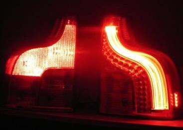 03 13 Volvo Xc90 Led Tail Lights Neon Light Left Right