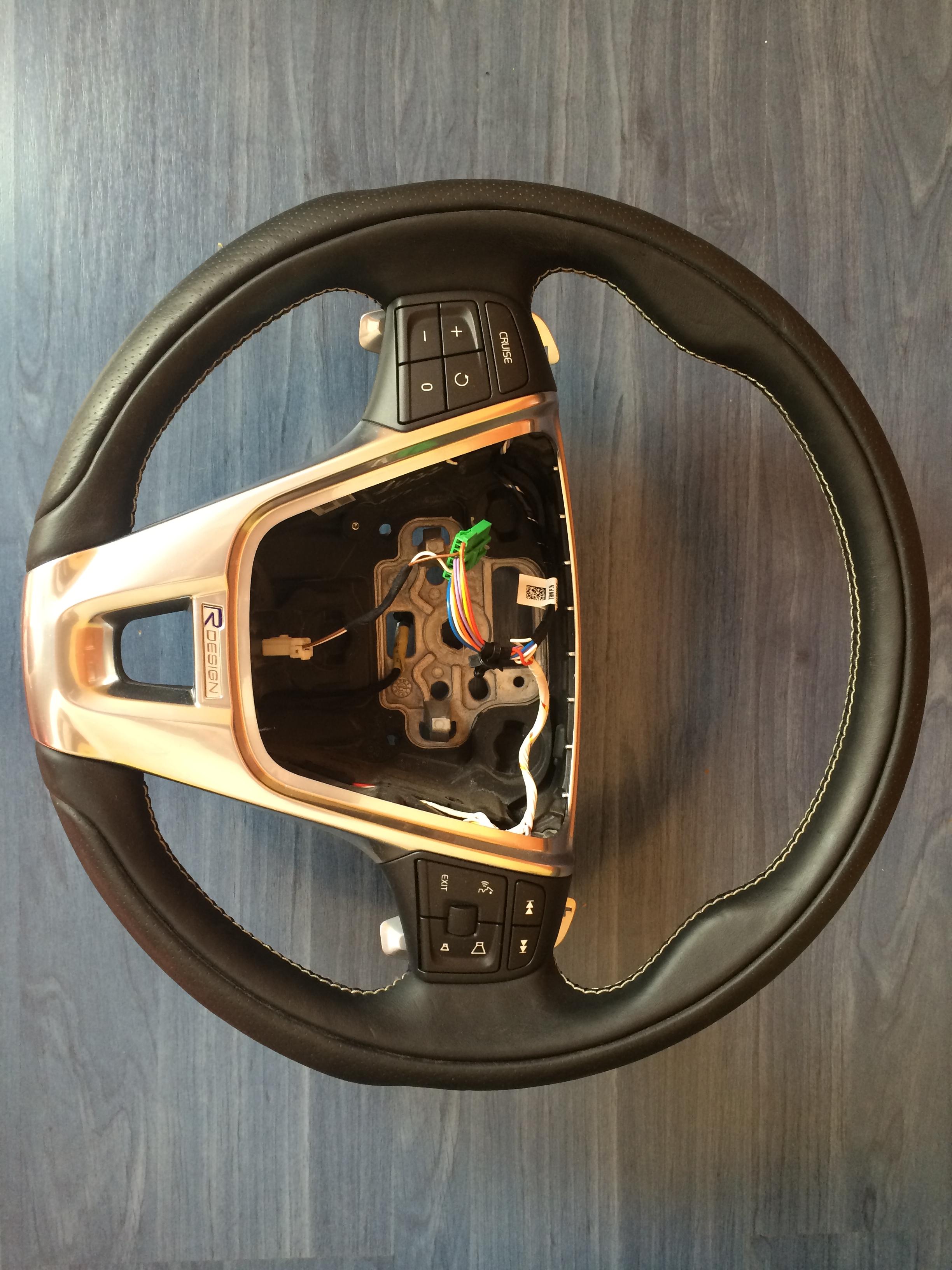 Volvo S60 V60 Xc60 Steering Wheel R Design W Paddle