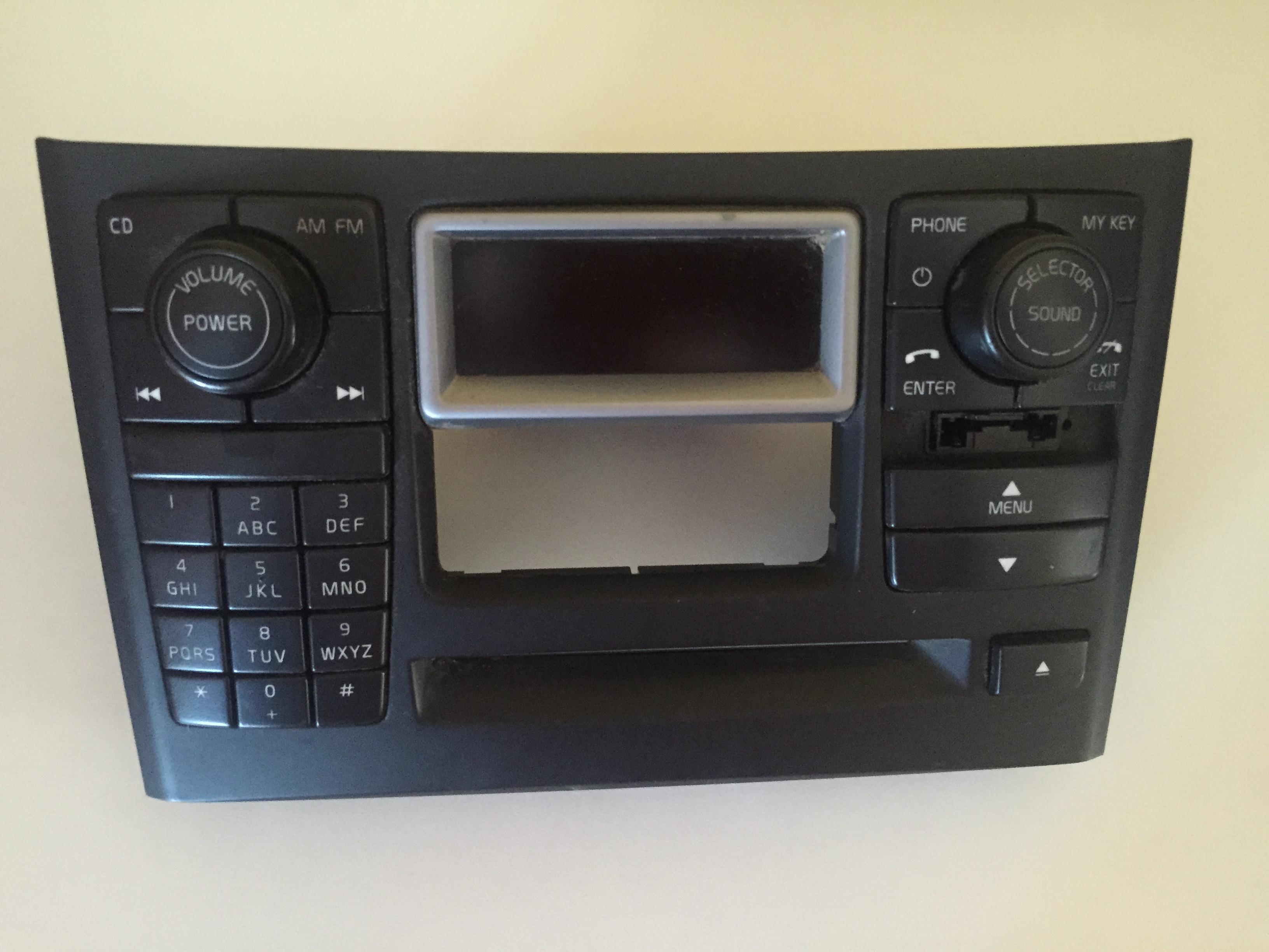 volvo xc90 radio ICM display matrix w/phone w/sim card 03-06